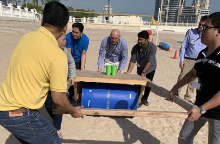 """Experiential team build activity chariots"""