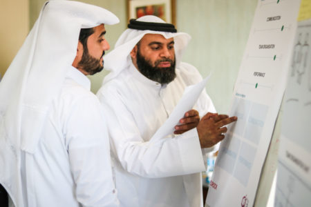 Leadership development for Qataris