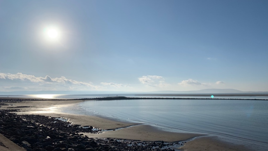 llanelli beach and Millennium Coastal path